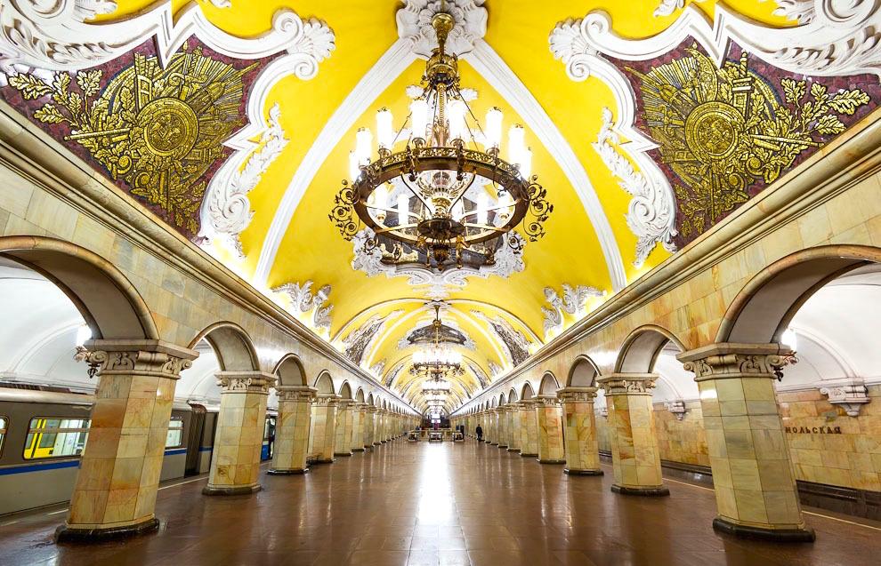 метрополитен москвы фотографии